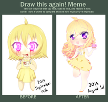 Chica Improvement Meme by LILDanica