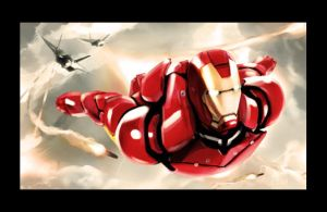 Iron Man by 23w3