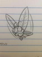 Vivifly sketch - 9/15/13 by Jestloo