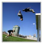 Parkour In The Park - Backflip by Lucanos