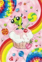 Gir's Candy Land by Lovely-Autumn