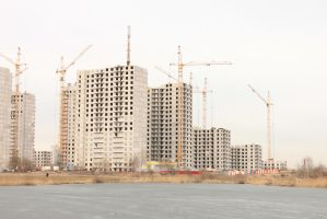 High-Rise Construction 13 by ManicHysteriaStock