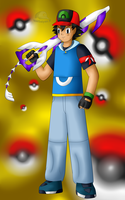 N-Warrior Ash Ketchum by NWSaiyanX