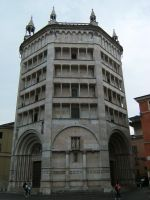 Baptistery of Parma by DamaInNero