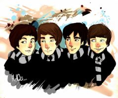 The Beatles by HelQ