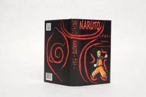 Whole Naruto Book cover (without flaps) by 2great4u