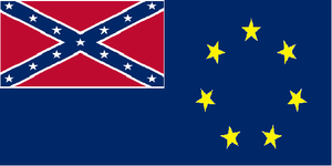 Flag of the Confederate Remnant by dragonvanguard