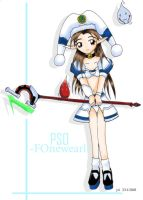 PSO FOnewearl White by y4