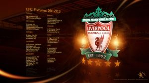 LFC Fixture Wall 2012-13 by kitster29