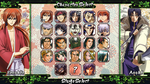 Rurouni Kenshin : Heart of Sword - Select Screen by Zinesis