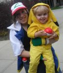 Ash and Pikachu by CosplayCrazed