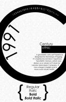 Century Gothic Poster1 by KCCreations