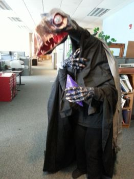 Skeksi Costume for Office Party by bookstoresue