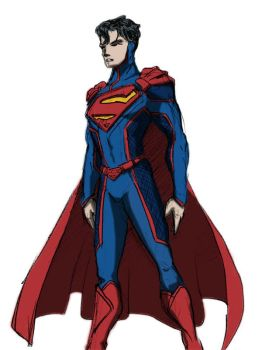 Superman Redesign by EmeraldBeacon