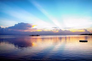 Sunrise in Montego Bay, Jamaica by carlosthomas