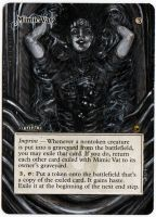 Magic The Gathering Alteration: Mimic Vat 8/16/14 by Ondal-the-Fool