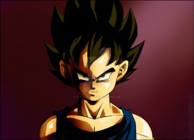 Prince Vegeta Jr by condemned2love