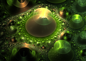 green floor with rings by Andrea1981G