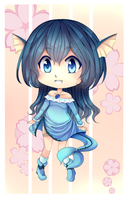 +ADOPTABLE+ Vaporeon Gijinka CLOSED by Sallynyan