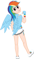 Rainbow Dash by AFunny