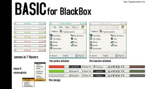 Basic for Blackbox by geyl