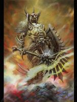 warrior 2 by elshazam