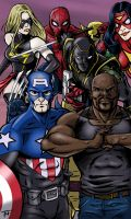 New Avengers by Tim4