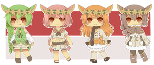 [CLOSED] Deerling Pokegijinka Adopts by WanNyan