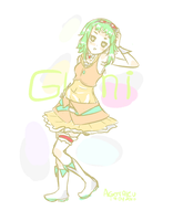 Gumi Sketch by agotaku