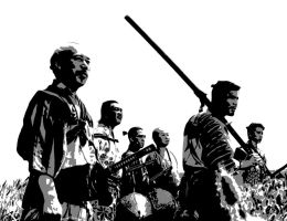 Six_of_the_Seven_samurai by Jarlerus