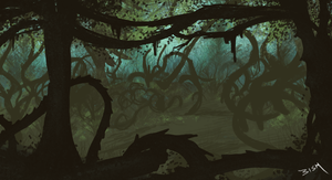 Entangling Grove (30 mins) by StormAndy