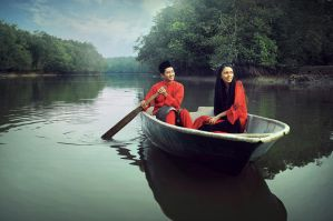 Rowing Love by apipro