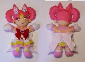 Sailor Chibi Moon Plushie by sakkysa