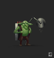 Lol champ concept- Goblin Inventor by metalliam