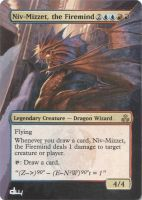 Niv-Mizzet, the Firemind Alter by diemwing