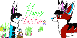 Happy Easter by 4ellyK
