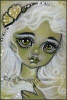 Tiny Shells ( mermaid ) ACEO by Katerina-Art