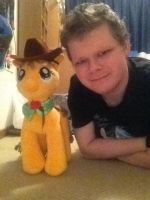Me and Applejack by LoudNoises