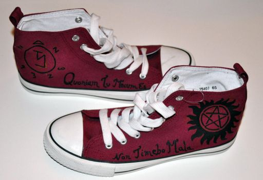 Supernatural shoes by Ligechan