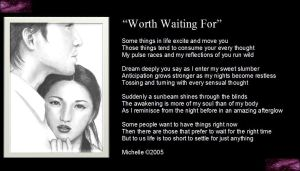 Worth Waiting For by VisualPoetress