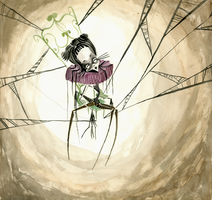The Spiders Web by p1nk1ce