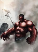 Red Hulk by KEGO44