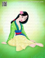 Mulan Disney by Richmen