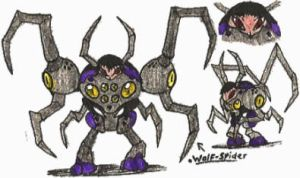 [Hero-108 OC] Wolf-Spider by Kainsword-Kaijin