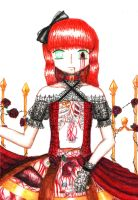 bloody doll by BloodSorrow13