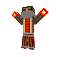 Minecraft skin: Rail man by sonickirbyfanno7np10