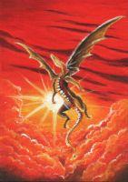 red sky dragon by amfor4