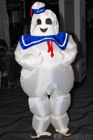 Stay Puft Marshmallow Man from Ghostbusters cospla by MidnightSkyPhoto