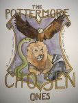 The Pottermore Chosen Ones Shield by alwayskat27
