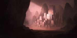 Lost city by WiredHuman
